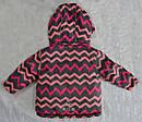 Детская зимняя куртка Зиг-Заг розовая (QuadriFoglio, Польша), фото 8