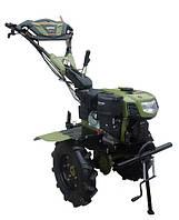 Культиватор бензиновый Forte 1050G LUX, колеса 10', 7 л.с. (зеленый)