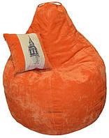 Мягкое бескаркасное Кресло мешок груша-пуф