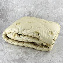 Одеяло закрытое овечья шерсть (Микрофибра) PURE WOOL Двуспальное Евро T-55091, фото 3