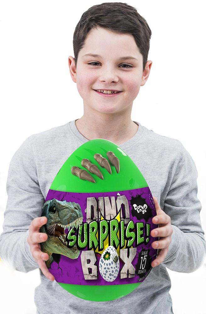 """Креативна творчість """"Dino Surprise Box"""" укр"""