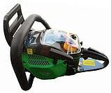 Бензопила Craft-tec CT-5000 (2 шины, 2 цепи) Цепная пила Крафт-тэк CT-5000, фото 5