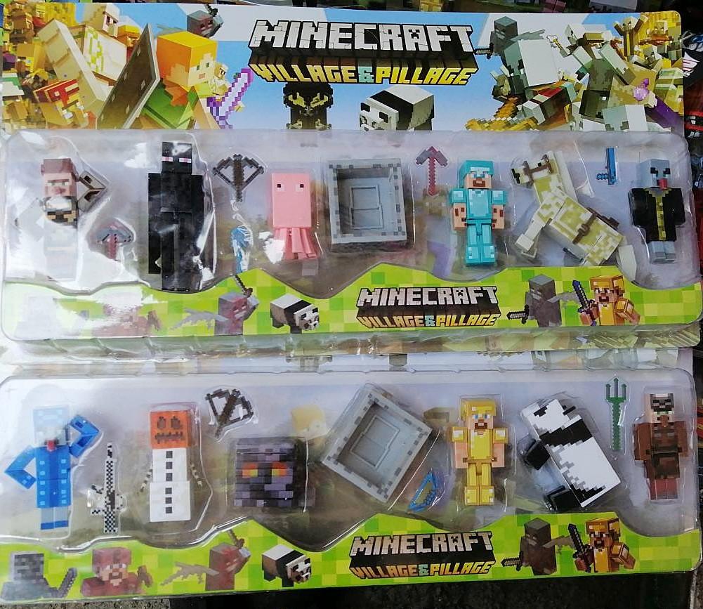 Набор фигурок Minecraft Майнкрафт