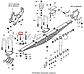 853050 Болт М20х45 ушка рессоры передней КАМАЗ (пр-во Белебей), фото 4