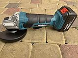 Акумуляторна болгарка Makita DGA504ZL ( 24V, 125 мм). УШМ Макіта, кутова шліфмашина Безщіткова!, фото 3