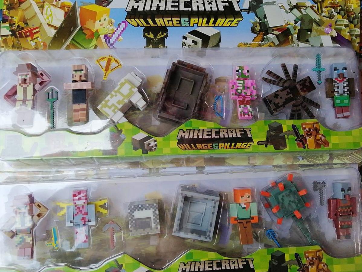 Игровой набор фигурок Minecraft