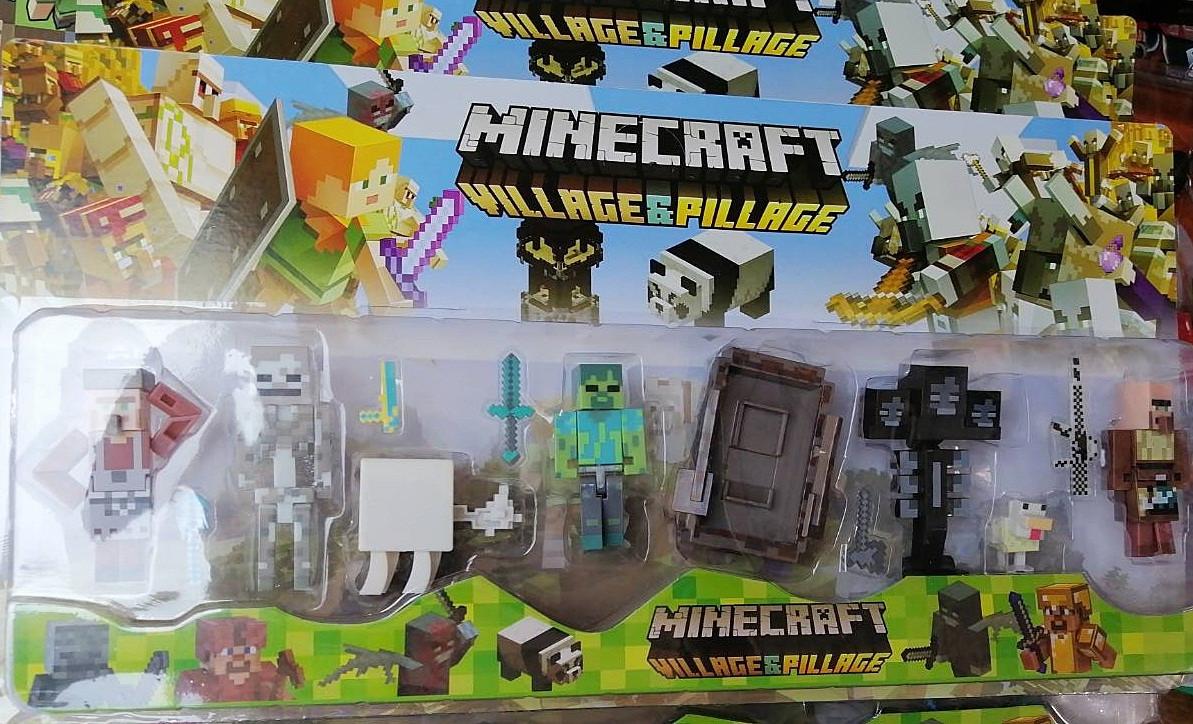 Набір фігурок героїв Майнкрафт Minecraft