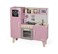 Детская кухня с холодильником, светом и звуками Janod Macaron