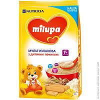 Каша молочная Milupa мультизлаковая с печеньем милупа, 210 г