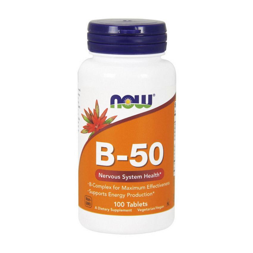 Витамины NOW Foods B-50 100 caps
