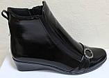 Кожаные ботинки большие размеры весна женские, обувь кожаная больших размеров от производителя модель МИ5251-2, фото 3