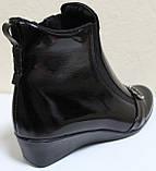 Кожаные ботинки большие размеры весна женские, обувь кожаная больших размеров от производителя модель МИ5251-2, фото 5