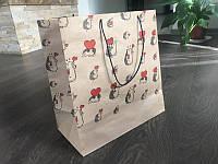 Пакет паперовий подарунковий Їжачок 300*330*160 мм