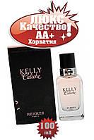Р1Hermes Kelly Caleche розовый Люкс качество АА++