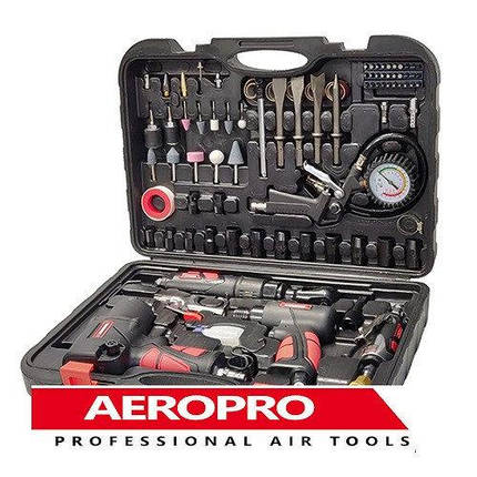 Набір пневмоінструменту 57 од. AEROPRO RP7857, фото 2