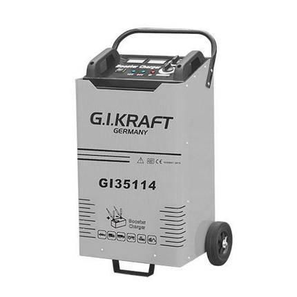 Пуско-зарядное устройство 12/24V, 1800A, 380V G.I.KRAFT GI35114, фото 2