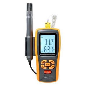 Термо-гигрометр Bluetooth 0-100%, -10-50°C BENETECH GM1361X, фото 2