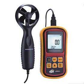 Термоанемометр 0,8-45м/с, -10-45°C BENETECH GM8901
