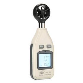 Цифровой анемометр 0,1-30м/с, -10-45°C BENETECH GM816A