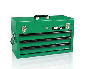Ящик с набором инструментов для автосервиса TOPTUL 3 секции 82 ед. GCAZ0016, фото 2
