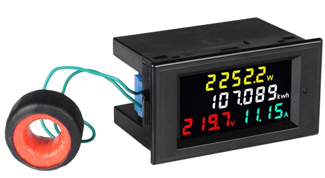 Ваттметр DL69-2049 до 30 КВТ, AC 80-300 V,0-100 A