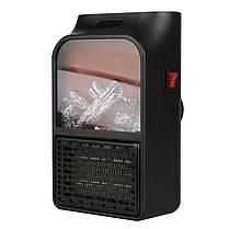 Обогреватель Flame Heater тепловентилятор дистанционный с LCD дисплеем 1000W, фото 2
