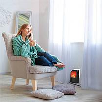 Обогреватель Flame Heater тепловентилятор дистанционный с LCD дисплеем 1000W, фото 3