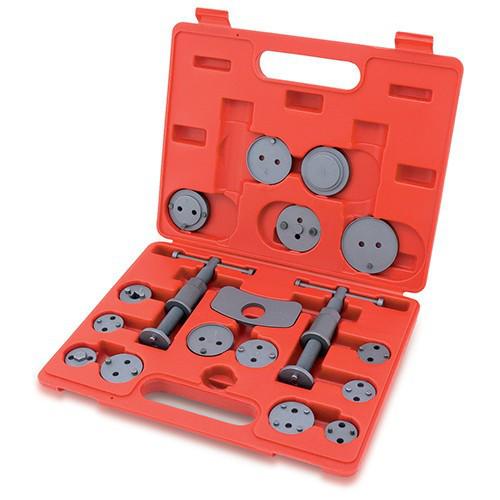 Комплект для обслуговування гальмівних циліндрів TOPTUL 18 од. (два гвинти) JGAI1801