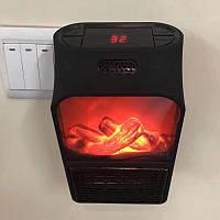 Обогреватель Flame Heater тепловентилятор дистанционный с LCD дисплеем 1000W
