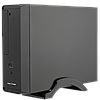 Корпус Slim LP S621 + Блок питания Micro ATX 400W 8см