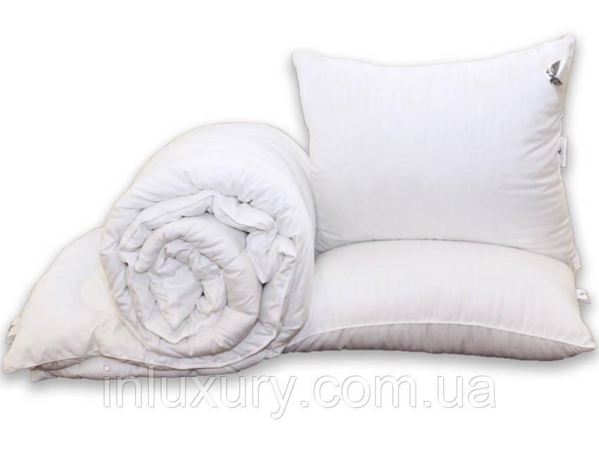 """Одеяло """"Eco-страйп"""" 1.5-сп. + 2 подушки 50х70"""