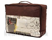 "Одеяло лебяжий пух ""Cotton"" 1.5-сп. + 2 подушки 70х70, фото 3"