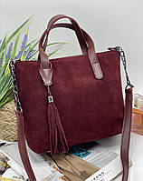 Женская сумка 112 бордовый купить женские сумки оптом от производителя в Украине, фото 1