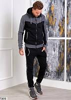 Костюм мужской спортивный темный,мужской темно-серый костюм,мужские спортивные штаны,мужской спортивный костюм