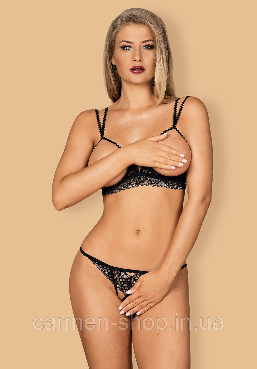 Комплект Obsessive LIFERIA SET crotchless