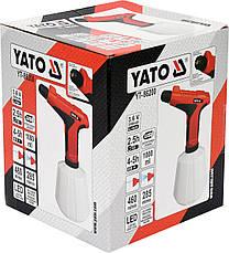 Акумуляторний обприскувач електричний YATO YT-86200, фото 2