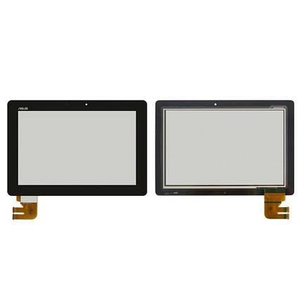Сенсор (тачскрін) для планшета Asus TF300T G01 чорний Оригінал, фото 2