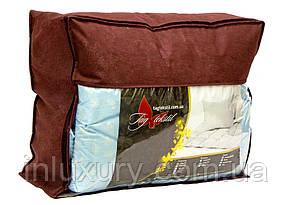 "Одеяло лебяжий пух ""Голубое"" евро + 2 подушки 50х70, фото 2"