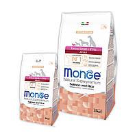 Корм Monge Extra Small Adult Salmon&Rice (лосось и рис); 0.8 кг