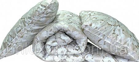 "Одеяло лебяжий пух ""Цветы"" 2-сп. + 2 подушки 70х70, фото 2"
