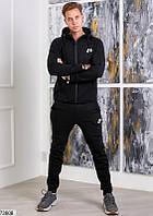 Костюм мужской спортивный темный,мужской темно-серый костюм,теплый мужской костюм,мужской спортивный костюм