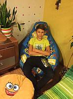 Кресло мешок груша пуф бескаркасный мягкий для подростков
