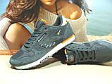 Мужские кроссовки Reebok classic (реплика) серые 46 р., фото 3