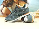 Мужские кроссовки Reebok classic (реплика) серые 46 р., фото 4