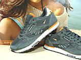 Мужские кроссовки Reebok classic (реплика) серые 46 р., фото 5