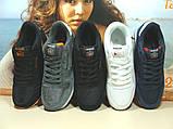 Мужские кроссовки Reebok classic (реплика) серые 46 р., фото 9