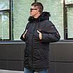 Куртку парку зимову чоловічу з хутром 44-54 колір 02, фото 4