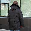 Куртку парку зимову чоловічу з хутром 44-54 колір 02, фото 5