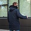Куртку парку зимнюю мужскую с мехом  44-54 цвет 02, фото 8