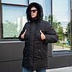 Куртку парку зимову чоловічу з хутром 44-54 колір 02, фото 6